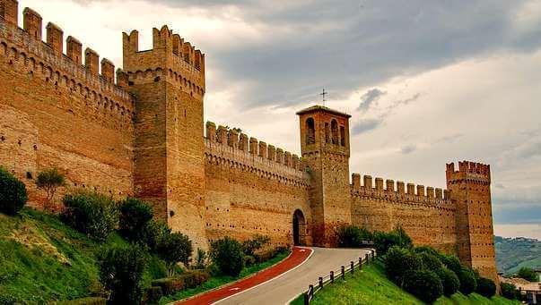 places to visit le marche gradara-castle